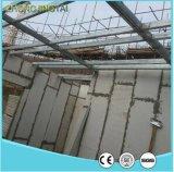 プロジェクトの構築のための白板の壁の羽目板またはスタッコのセメントのボードの下見張り