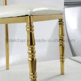 椅子を食事する贅沢な金めっきされたステンレス鋼