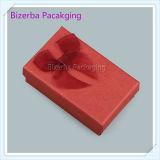 Vierecks-Form-Papppapier-Geschenk-Kasten für Schmucksachen