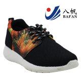 2016 Form-Einspritzung-beiläufiger Sport-Schuh mit Feuerwerk-Druck