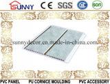 20cmの幅の室内装飾のための印刷を用いる中間の溝PVC壁パネルの天井板