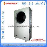 Pompa de calor de Soruce del aire del inversor para el enfriamiento de la calefacción de la casa y el agua viva caliente