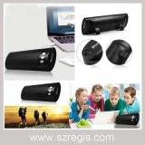 Haut-parleur extérieur portatif sans fil de subwoofer de Bluetooth de plumier