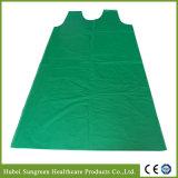 PET Weste-Schutzblech, PET Kittel, Wegwerfplastikweste-Kleid