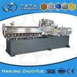 Máquina plástica gemela de la protuberancia de los PP Granuling del estirador de tornillo para reciclar