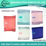 Cinta adhesiva fácil Top-Grade para la película de la bolsa de la cinta del palillo de la servilleta de Sanitay (LS-R68)
