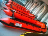 ドイツ顧客のためのアルミニウムFloor/3.8m/Pleasureのボート