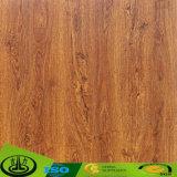 Papel de madera de la melamina del grano de los laminados