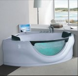 Jacuzzi d'angolo di 1630mm con Ce e RoHS (AT-9053TV)