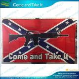 Bandeira confederada do rebelde rápido do poliéster da entrega 3X5ft