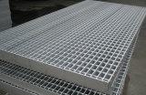 電流を通された明白な鋼鉄床の格子