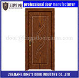 Porte intérieure de PVC de modèle de porte de chambre à coucher