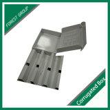 Insérer la boîte en carton blanche de cadre avec la garniture intérieure de papier 24 modèles libres d'heure