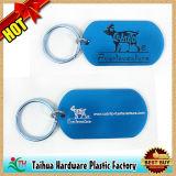 Trousseau de clés estampé rond en métal de promotion (TH-06985)