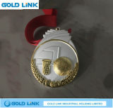 La coutume folâtre des récompenses de médaillon de basket-ball de métiers en métal de médaille
