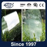 Film protecteur transparent de protection et sécurité de guichet en verre de construction