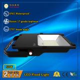 Reflector al aire libre 50W de IP65 LED con Philips LED y la fuente de alimentación de Meanwell