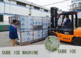 Machine de glace de cube en grande capacité avec du matériau de l'acier inoxydable 304