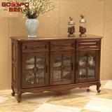 Gabinete de armazenamento em madeira de altura fina fina (GSP20-008)