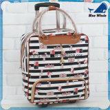 Bw1-063 de Vezel van de Polyester Al Grootte Afgedrukte Koffer van de Bagage van de Zak van het Karretje