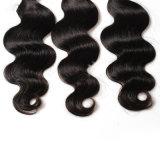 卸し売り人間の波状毛の加工されていないRemyのペルーの毛