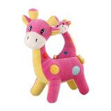 귀여운 다채로운 연약한 장난감 박제 동물 사슴 견면 벨벳 아기 장난감
