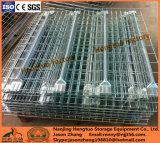 Decking de fil soudé par entrepôt d'étagère en métal d'aménagement de mémoire de crémaillère