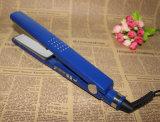 Ferro liso do Straightener cerâmico profissional do cabelo do indicador do LCD