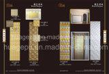 Художнические металлические пластинкы стены полиуретана для нутряного украшения