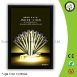 Publicidad del rectángulo ligero magnético delgado de la visualización LED