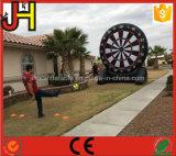 Het opblaasbare Spel van het Pijltje van het Voetbal, het Dartboard van de Voetbal van de Klitband voor Verkoop