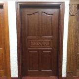 Porte d'entrée en bois de découpage fabriquée à la main de Sapele de porte (XS2-013)