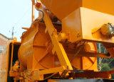 Piccola pompa della betoniera del rimorchio con il miscelatore Js500 da vendere