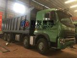 Sinotruk HOWO A7 12 바퀴 팁 주는 사람 트럭 덤프 트럭 차원