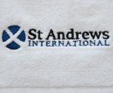 100%年の綿の切断のビロードのゴルフ/スポーツの/Outdoorタオル