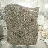 Headstones poco costosi cinesi del granito G664 per gli stili della Polonia
