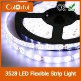 Luz de tira flexível quente do diodo emissor de luz do preço SMD3528 da venda DC12V baixa