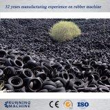 機械ゴム製粉のプラントをリサイクルする不用なタイヤ