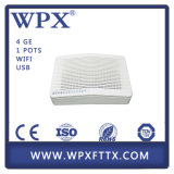FTTX Epon ONU dirigem o modem da unidade VoIP+WiFi+USB Gpon Ontário do Gateway