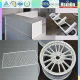 Enduit blanc de poudre de polyester de Ral 9016