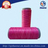 Filato tinto spazio del filato di colore del poliestere per il lavoro a maglia senza giunte della biancheria intima