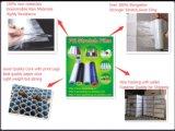Abrigo de LLDPE/película de estiramiento para el uso de la mano y de la máquina con la Virgen 100% Materilas