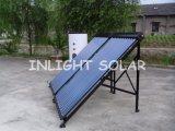 ポンプ太陽水暖房装置(タンクの2つのコイル)