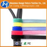Forti legami di nylon riutilizzabili della fascetta ferma-cavo del ciclo & dell'amo