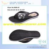 Продолжаемый Unisex Flop Flip впрыски ЕВА сразу напечатанный единственный с украшением ботинка