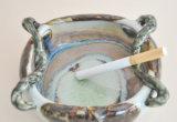 De ceramische Houder van het Asbakje van de Pijp van de Sigaar Rokende