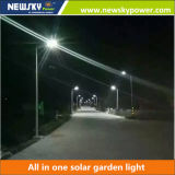 40W Bluetooth APP à prix abordable Integrated Solar Street LED Lighting