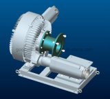 Ventilador doble del mecanismo impulsor de correa de la etapa sin el motor
