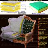 Ledernes Sofa mit hölzernem Sofa-Rahmen für Wohnzimmer-Möbel (D508)
