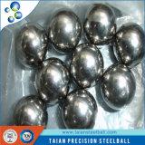 El cromo plateó la bola de acero perforada carbón